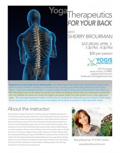 Yoga Therapeutics for your Back
